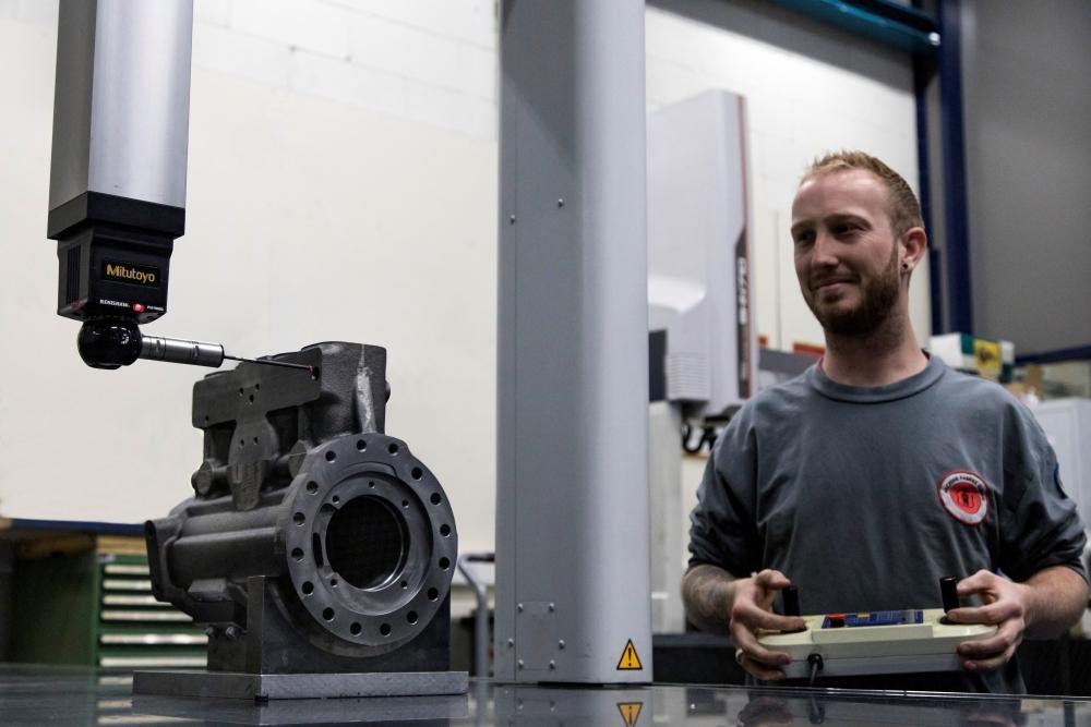 Qualitätssicherung - Machine Fabriek Elburg